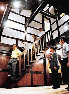 古材を生かして建てられた情緒あふれる家=小松市古城町で