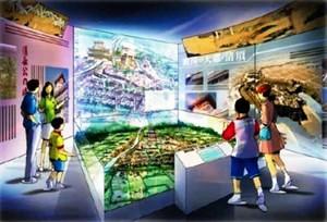 関東の巨鎮とうたわれた清洲城下と現在の市域を比較できるジオラママップ