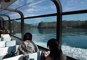 奇岩と野鳥観察が楽しめる恵那峡クルーズ