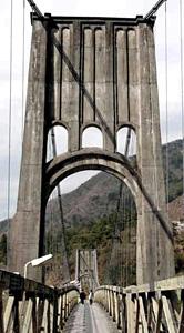 つり橋「桃介橋」