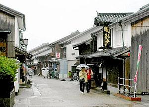趣のある町家が並ぶ「旧東海道・関宿の町並み」