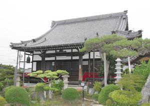 福島正則の菩提寺で、イベントの会場となる菊泉院=あま市二ツ寺で