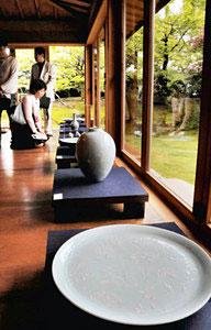 芸術作品と日本庭園の組み合わせが楽しめる樂翠亭美術館