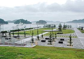 海に浮かぶ公園のような雰囲気のある鳥羽マリンターミナル