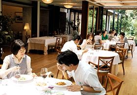 雰囲気のいいイタリアンレストラン
