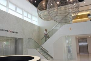 改装を終え、オープンを控える「めがねミュージアム」=鯖江市のめがね会館で