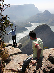 ブライデ・リバーは、世界3大渓谷の1つに数えられる=南アフリカ・ムプマランガ州で