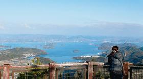 飽きのこない大崎上島・神峰山からの眺め