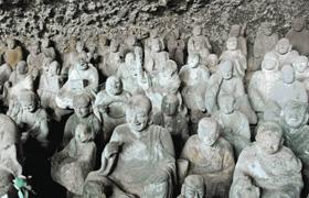 喜怒哀楽あらゆる表情が見つかる羅漢寺の五百羅漢