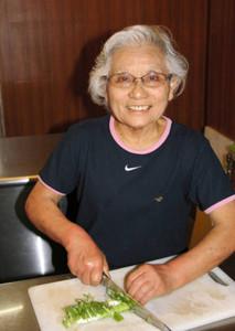 2日間限定で、乃ぼるのラーメンを復活させる二沢桂子さん=石川県能美市湯屋町で
