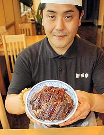 津市民にとっては、郷土食のような感覚のうな丼=津市丸之内養正町の新玉亭で