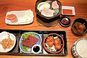 桂城の「まぐろ定食」