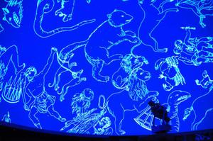 1000万個の星を映し出すプラネタリウム=刈谷市の夢と学びの科学体験館で