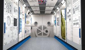 宇宙センターこまつの内部イメージ図=小松市提供