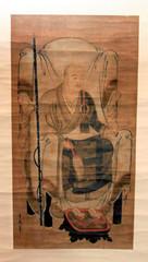 南渓和尚の肖像画=浜松市北区で