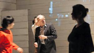 「オイディプス」三重公演から=5月、津市で(松原豊撮影)