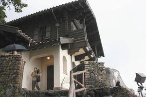 西洋館は国内にある洋館の傑作の1つといわれる