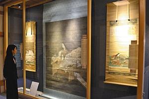 特別公開された紫式部の肖像画3点=大津市の石山寺密蔵院で