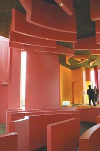 写真の撮影場所として人気が出た「極限で似るものの家」の内部