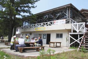 7月にオープンする能登リゾートエリア増穂浦の海の家=志賀町相神で