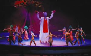 開幕したボリショイサーカス名古屋公演=名古屋市中区の県体育館で