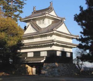 現在の吉田城鉄櫓=豊橋市今橋町の豊橋公園で