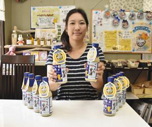 「お米本来の味を知ってもらいたい」と語る末松さん=半田市平井町で