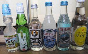 池沢湯で購入できるご当地サイダー=伊賀市上野愛宕町で