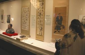 幕末維新ミュージアム霊山歴史館で西郷隆盛にちなんだ品々が展示されている「大西郷展」