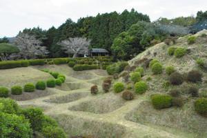 トリップアドバイザーの日本の城ランキングで15位に入った山中城跡