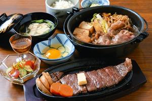 和牛のおいしさをふんだんに味わえるフルコースの料理=穴水町観光物産協会提供