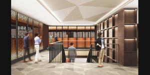 「アスティ新富士」2階の館内イメージ=JR東海静岡開発提供