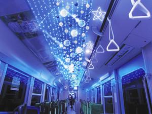 イルミネーション列車のイメージ