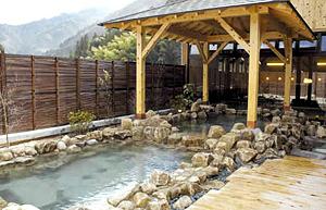 おんぽいの湯の露天風呂
