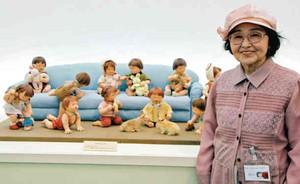 「子どもたちのかわいらしい表情やしぐさを楽しんでもらえたら」と話す早野さん