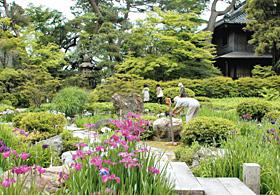 江戸の豪商、明治の実業家によって造り上げられた諸戸氏の回遊式庭園