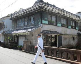 江戸、大正時代の建物が残る「ペリーロード」