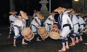 田峯念仏踊り=昨年