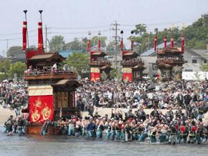 亀崎潮干(しおひ)祭=昨年
