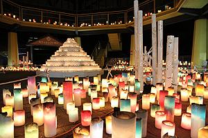 冬の楽園祭 キャンドルナイト=昨年