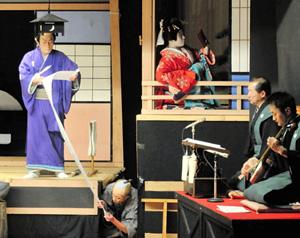 鳳凰座歌舞伎定期公演=昨年