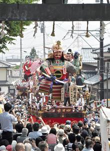 三国祭=昨年