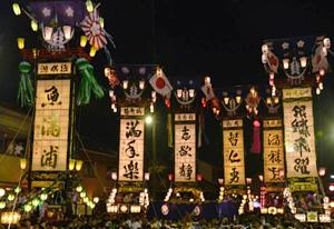 石崎奉燈(ほうとう)祭=昨年