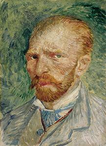 フィンセント・ファン・ゴッホ「自画像」1887年4~6月、クレラー=ミュラー美術館 (C) Kröller-Müller Museum, Otterlo