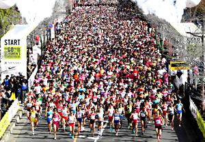 名古屋ウィメンズマラソン=昨年