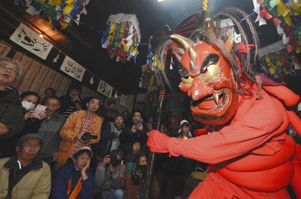 布川(ふかわ)の花祭り=一昨年