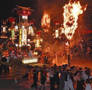 あばれ祭=昨年