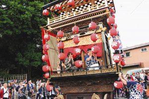 関宿祇園夏まつり=昨年