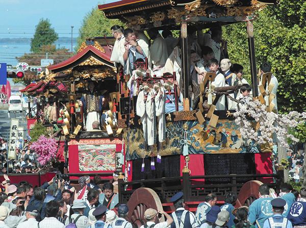 大津祭=昨年