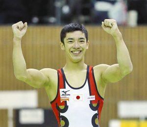 白井健三選手(日体大)=昨年大会より